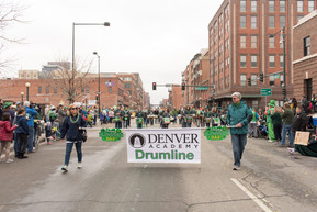 St. Patrick's Day Drumline Parade