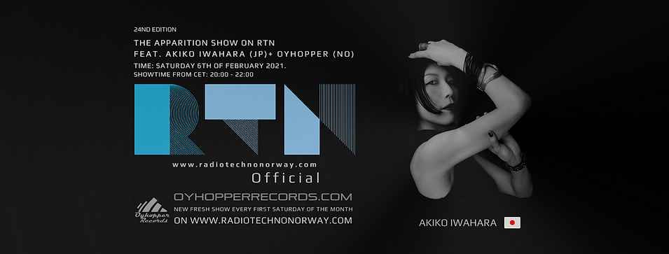 The Apparition Show on RTN ep 24 banner