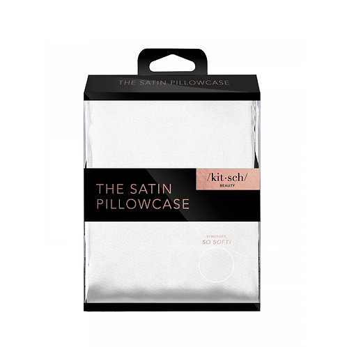 KITSCH Satin Pillowcase-Ivory