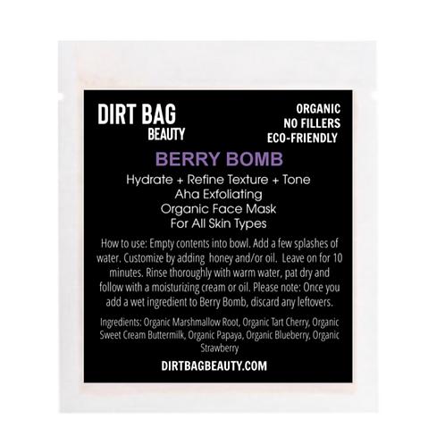 "Organic ""BERRY BOMB"" Face Mask"