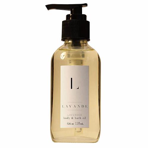 Lavender Bath & Body Oil