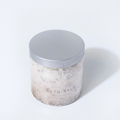 Hemp-Infused Lavender Bath Salt