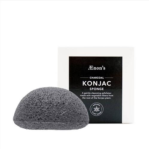 Charcoal Konjac Cleansing Sponge