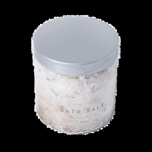 Hemp-Infused Lavender Bath Salt