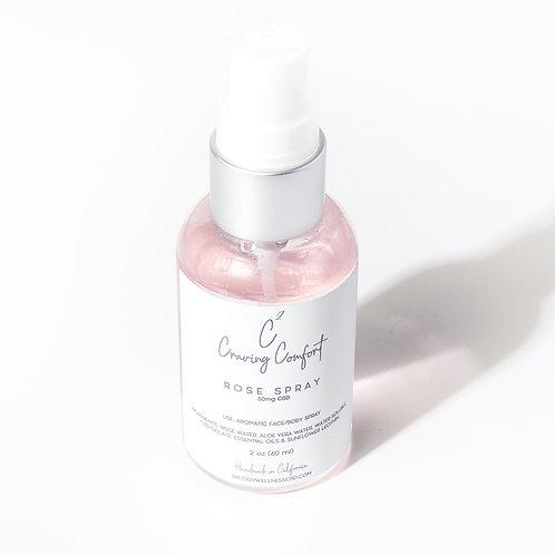 CBD Rose Water Spray