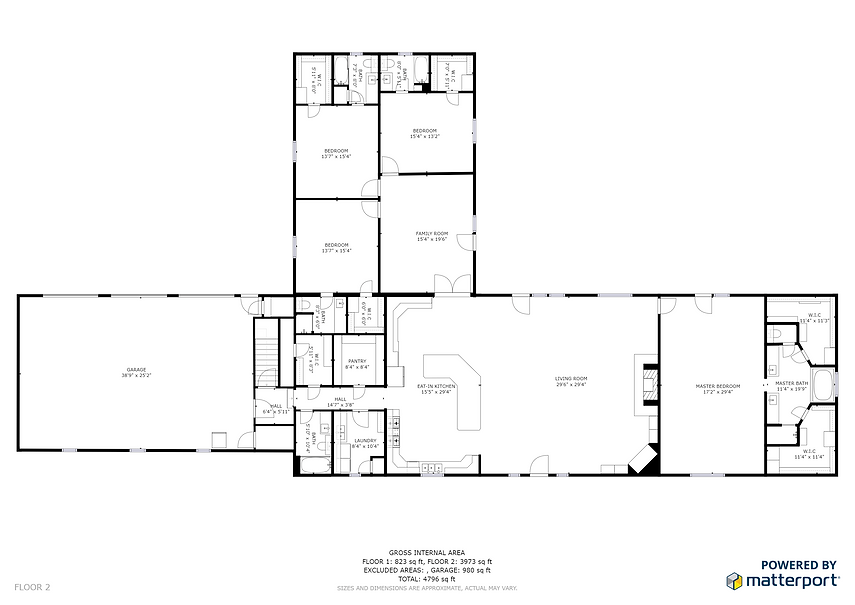 Hendricks Horse Ranch Floor Plan