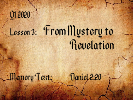 From Mystery to Revelation