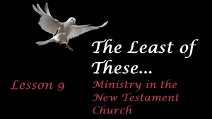 The least of these, Seventh-Day-Adventist, Quarterly Lesson, SDA, Messianic
