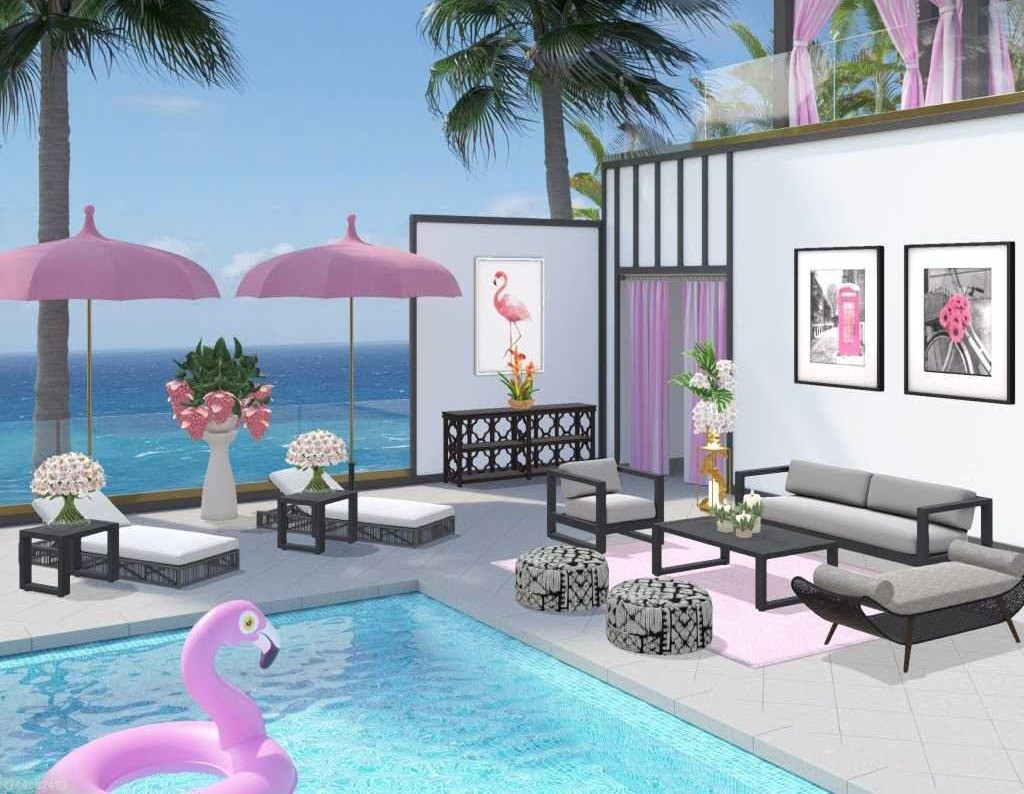 Resorts and Flamingos