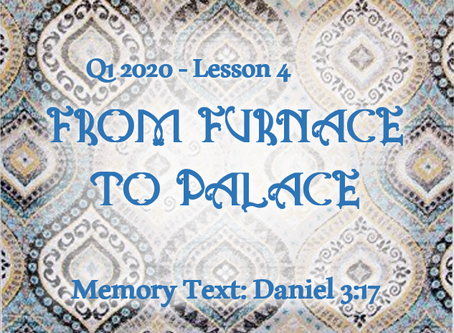 From Furnace to Palace