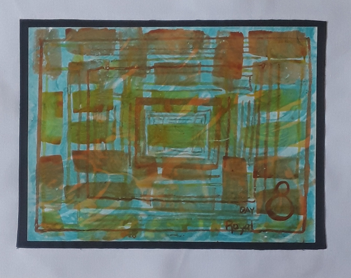 Day 08 - India Ink on Paper (small)
