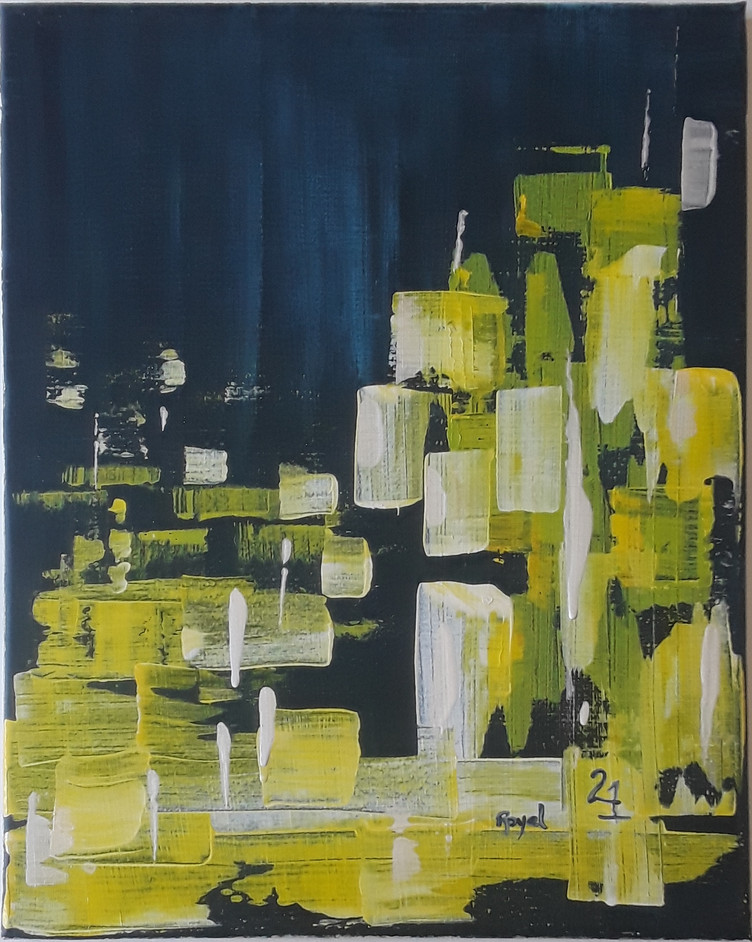 Day 21 - Acrylic on Canvas (large)