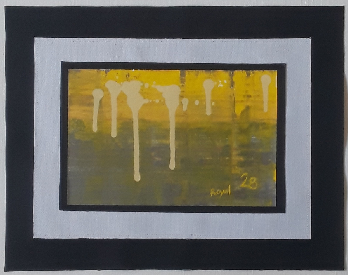 Day 28 - Acrylic on Paper (small)