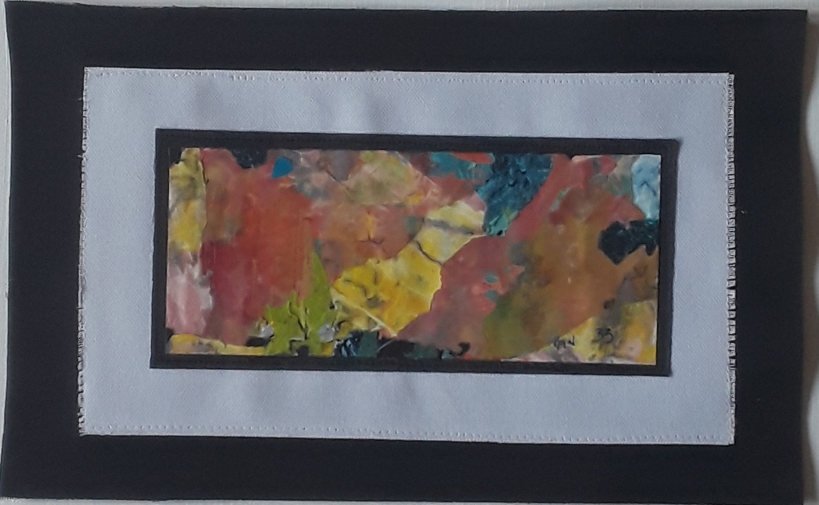 Day 33 - Acrylic on Paper (very small)