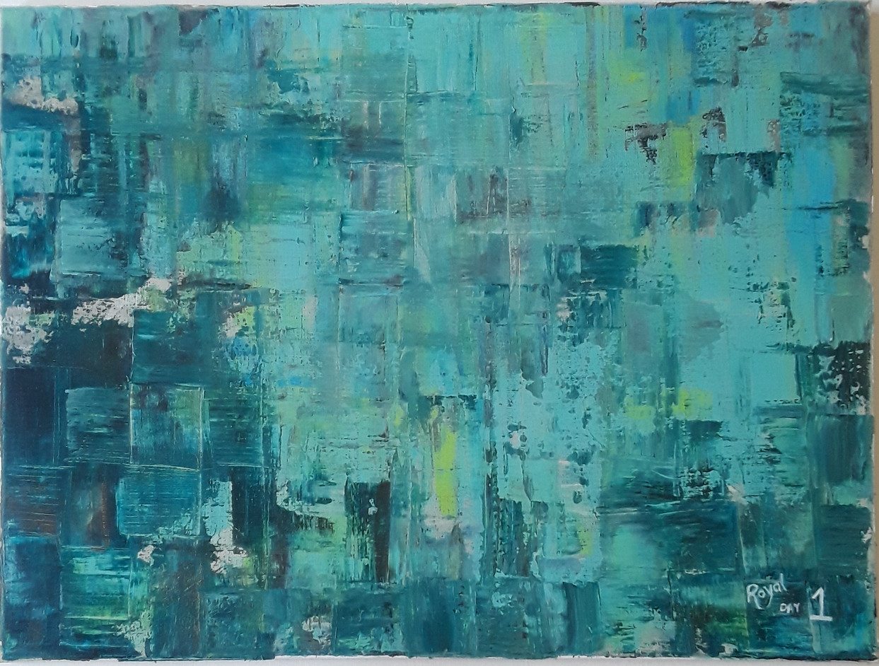 Day 01 - Acrylic on Canvas (large)