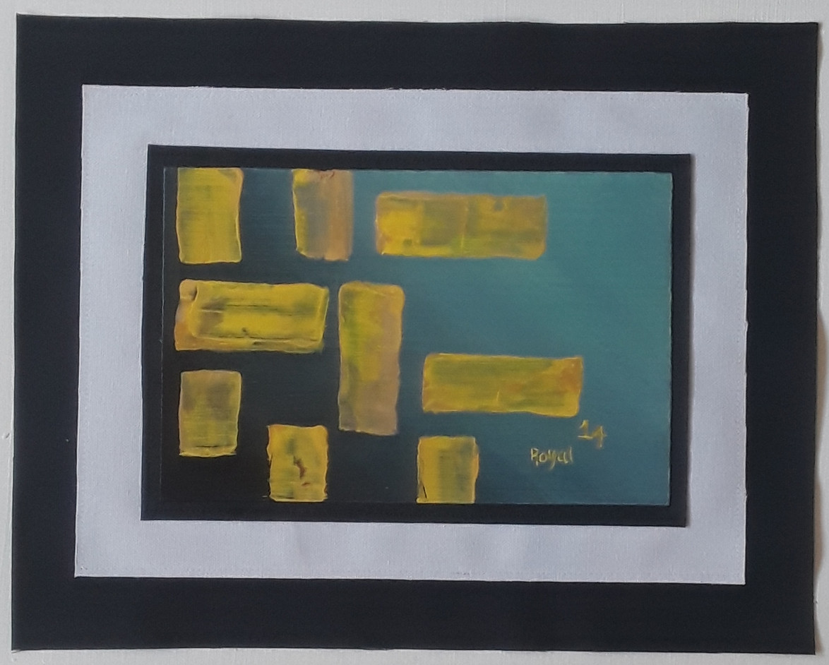 Day 14 - Acrylic on Paper (small)