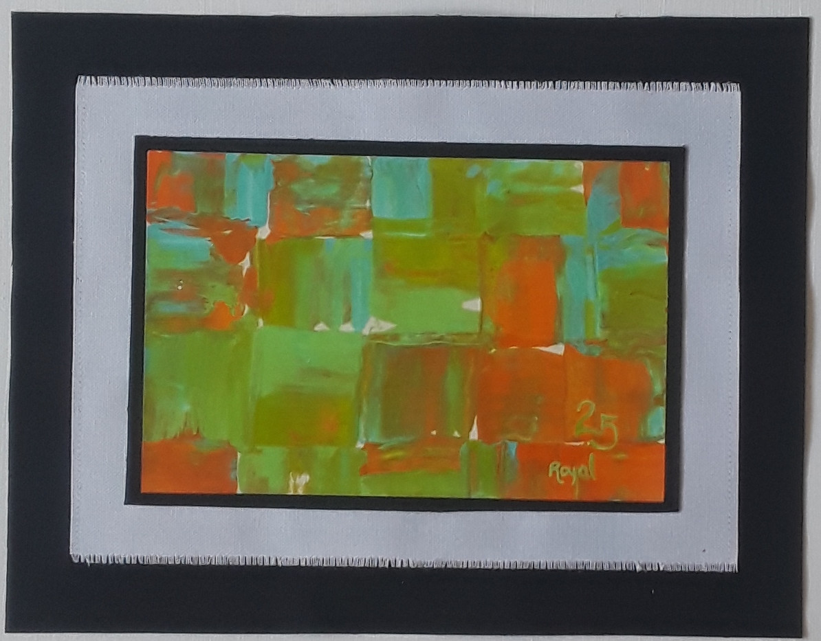 Day 25 - Acrylic on Paper (small)