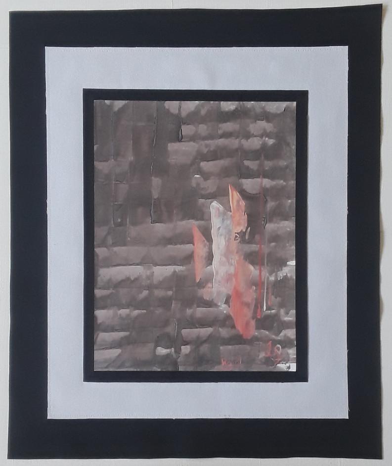 Day 19 - Acrylic on Paper (medium)