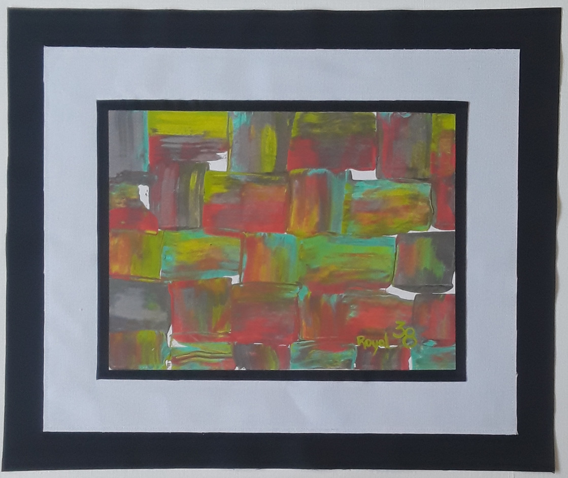 Day 38 - Acrylic on Paper (small)
