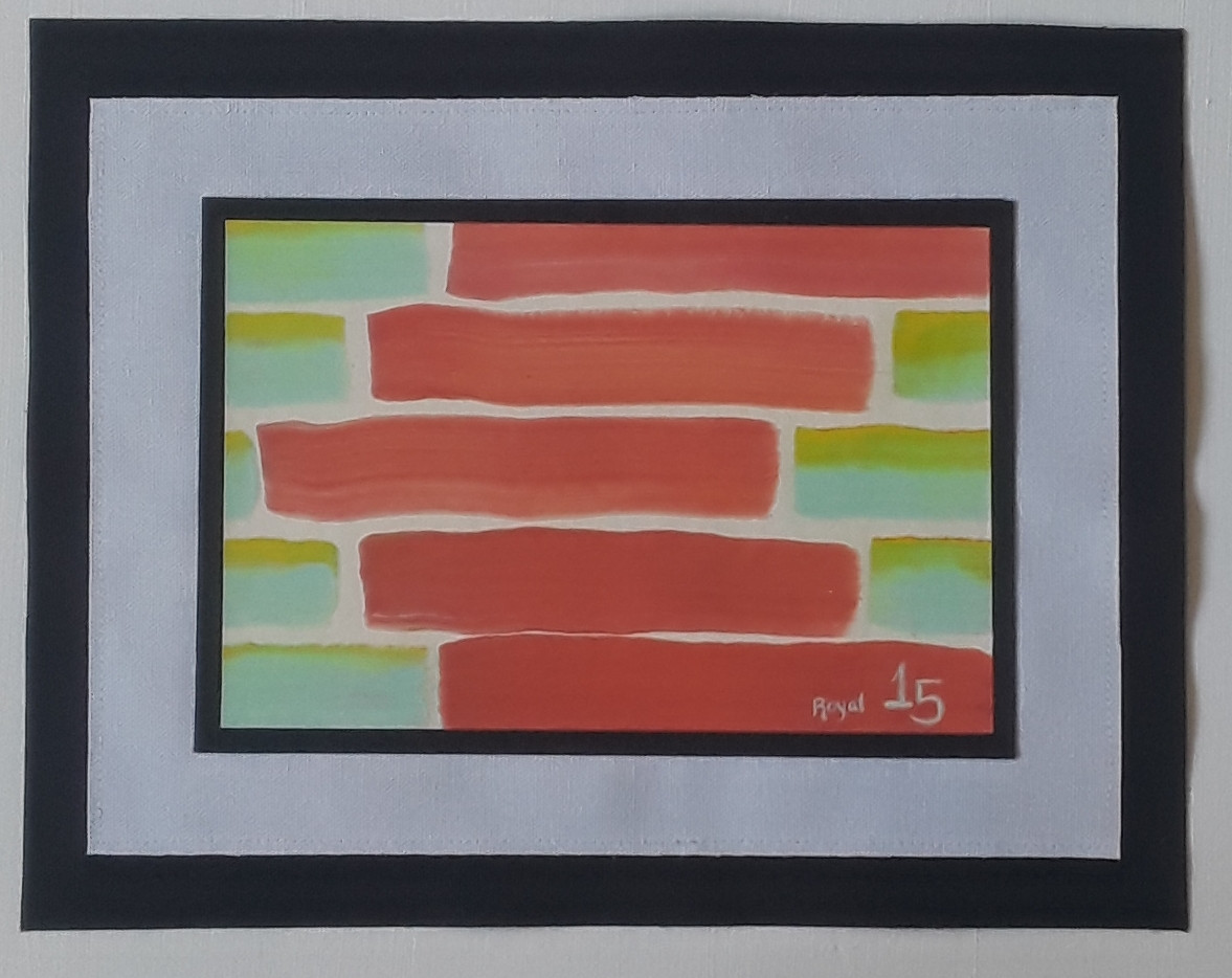 Day 15 - Acrylic on Paper (small)