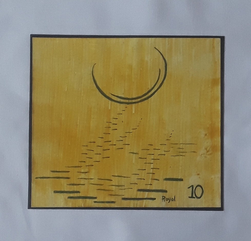 Day 10 - Ink on Paper (small)