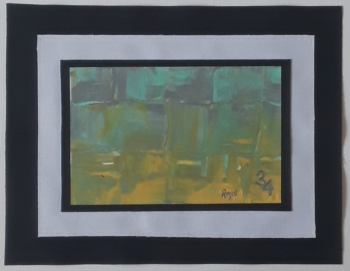 Day 34 - Acrylic on Paper (small)