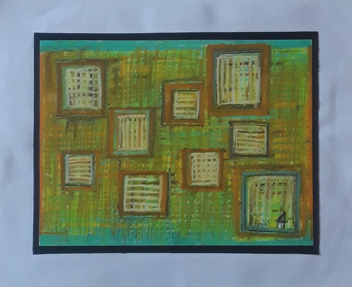 Day 04 - Oil Pastel on Paper (medium)