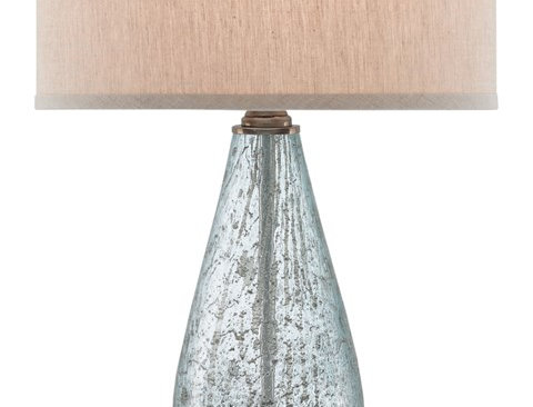 Speckled Glass Table Lamp
