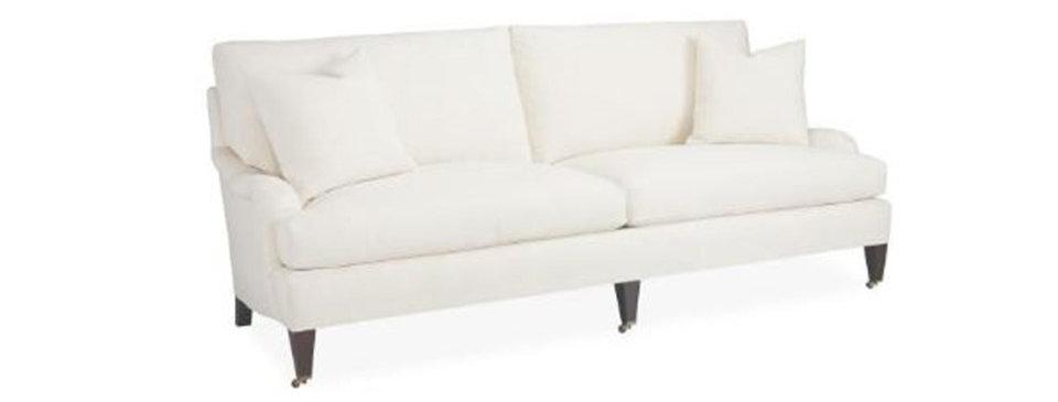 English Arm 2 Cushion Sofa