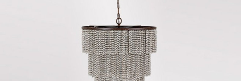 Beaded Fringe Chandelier