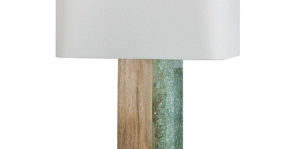 Dual-Material Table Lamp