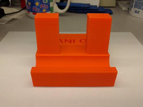 Solid Portable Media Holder