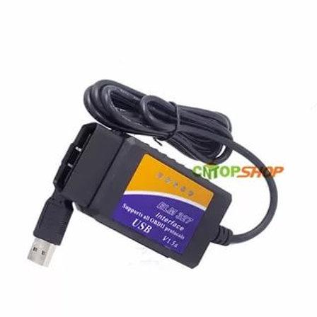 Автосканер  ELM327 OBD-II  USB