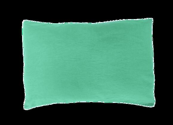 2 Taies 50x70 Eau turquoise