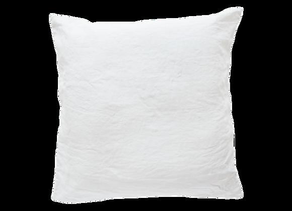 2 Taies 65x65 Blanc