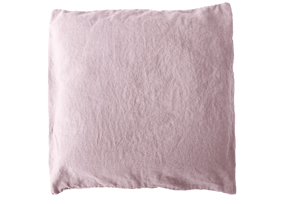 2 Taies 65x65 Rose cendre