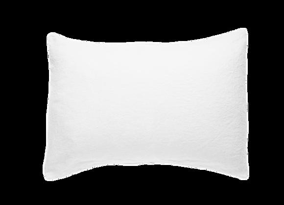 2 Taies 50x70 Blanc