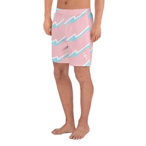 Wavvy Pink Men's Swim Trunks