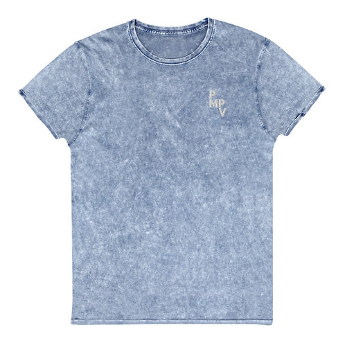 PMPV Denim Embroidered T-Shirt