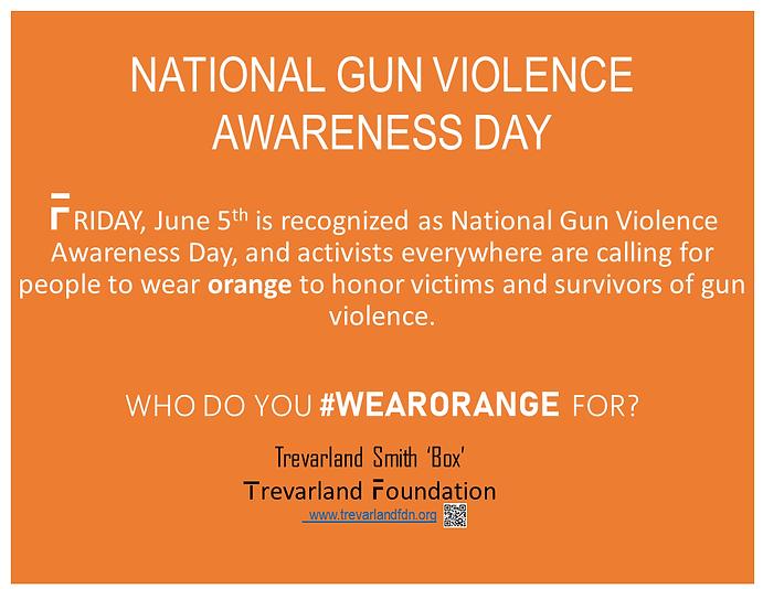 National Gun Violence Awareness Day -6-4