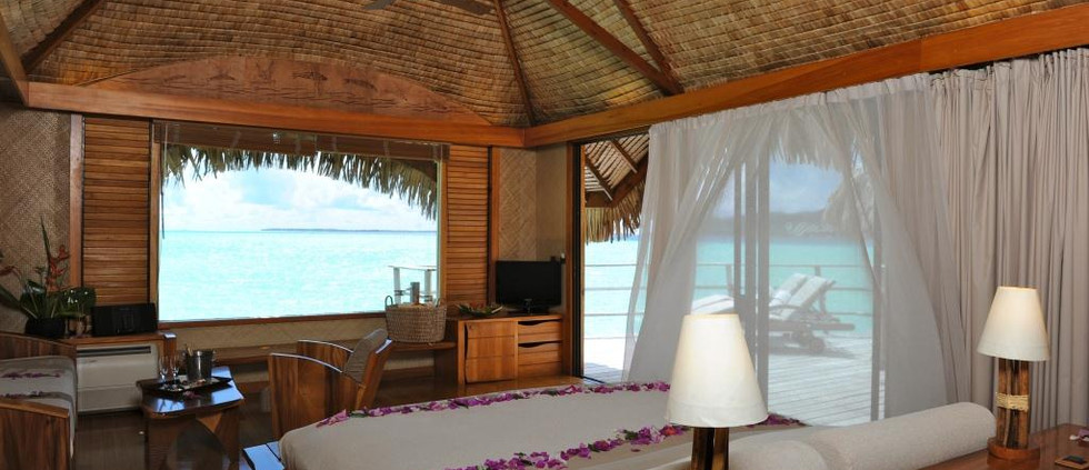 End of Pontoon Overwater Bungalow