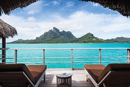 One-Bedroom Mountain View Overwater Bungalow
