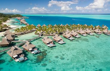 Conrad Bora Bora Nui - Villa - Pool Over