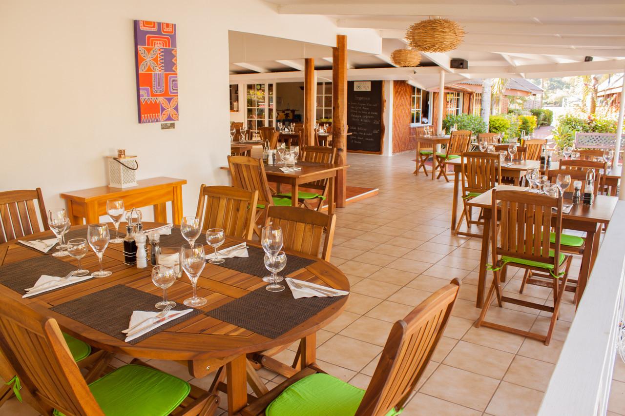 Restaurant at Villa Ixora
