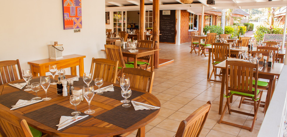 Restaurant at Villa Ixora