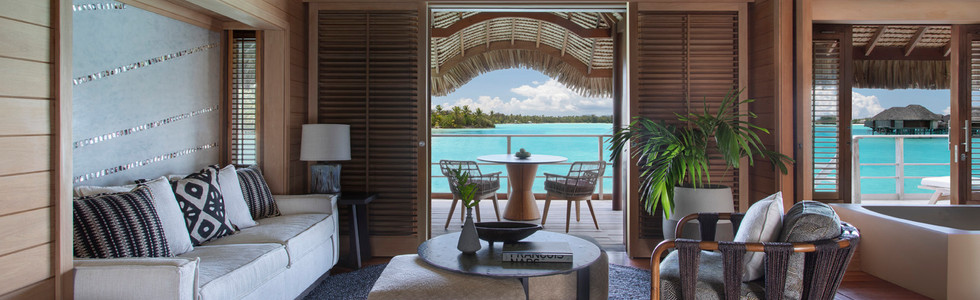 One Bedroom Beach View Overwater Bungalow Suite