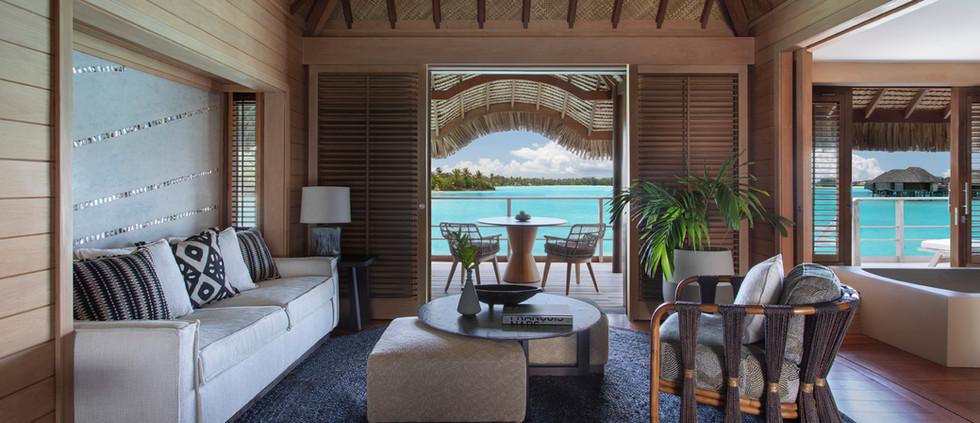 One Bedroom Beach View Overwater Bungalow Suite