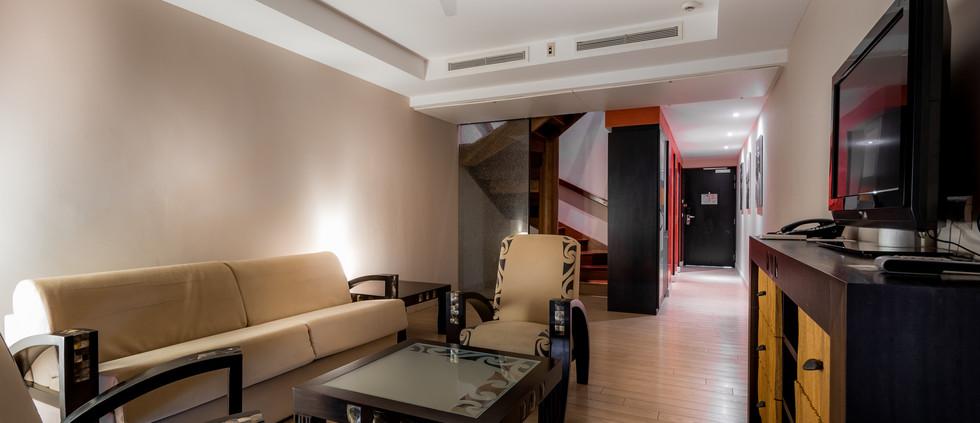 One-Bedroom Duplex Suite