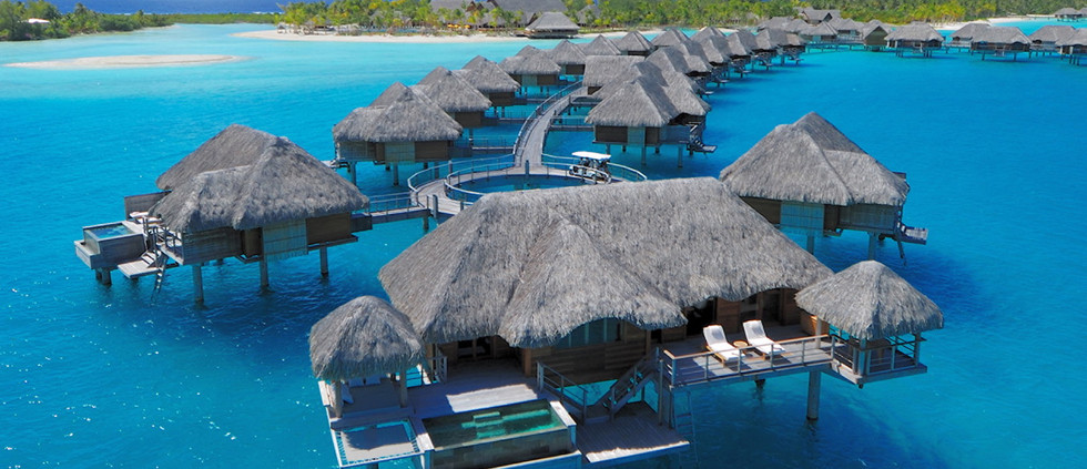 Two Bedroom Poerava Overwater Suite w/Pool