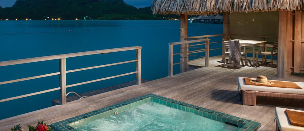 Overwater Deluxe Otemanu Villa (1 bedroom)
